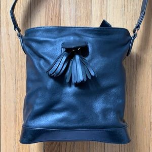 & Other Stories Black Bucket Bag